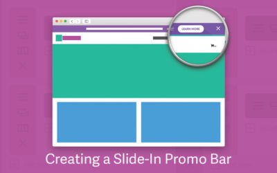 How to Create a Slide-In Promo Bar in Divi